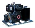 Dieselmotor-aangedreven-hydrauliek-aggregaat